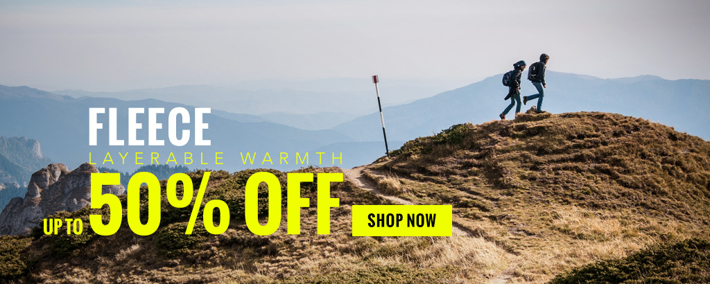 Up to 65% off fleece