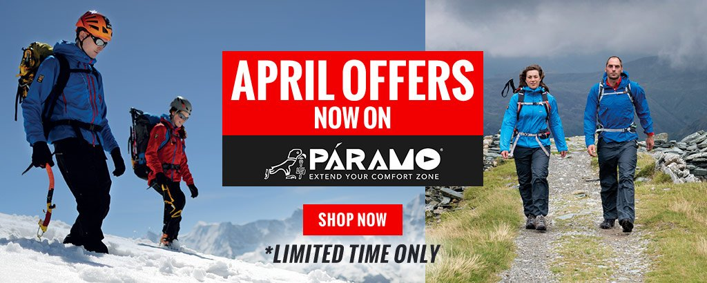 April Offers on Paramo