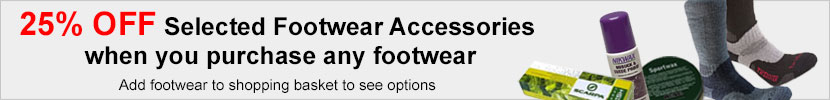 25% OFF Footwear Accessories