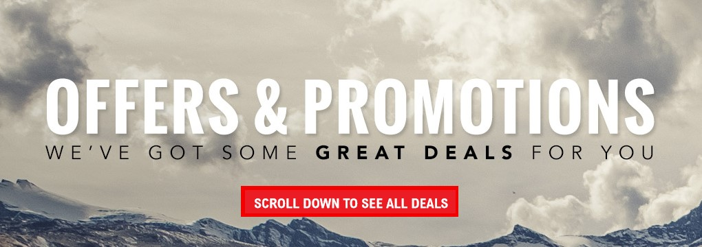 Offers & Promos You Won't Want To Miss