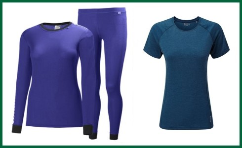 Women's Base Layers & T Shirts
