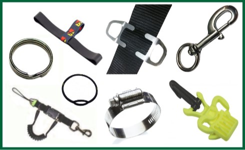 Clips Holders & Lanyards