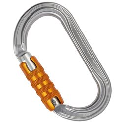 Petzl OK Triact-Lock Oval Lighweight Carabiner