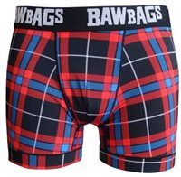Bawbags Mens Cool De Sacs Underwear - Tartan