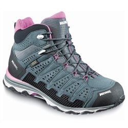 Meindl Womens X-SO 70 Mid Walking / Hiking Boots (Options: UK 5 Marine/Tourquise, UK 8 Marine/Tourquise, UK 6 Marine/Tourquise, UK 6½ Marine/Tourquise, UK 4½ Marine/Tourquise, UK 5½ Marine/Tourquise, UK 4 Marine/Tourquise)