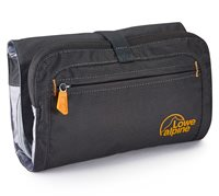 Lowe Alpine Roll Up Wash Bag with Integrated Smash Proof Mirror