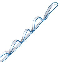 DMM 11mm x 135cm Dyneema Dynatec Daisy Chain for Aid Climbing (Option: Gold/White)