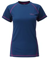 Rab Dryflo Short Sleeve 120 Womans Base Layer