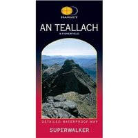 Harvey Maps An Teallach & Fisherfield Superwalker Map