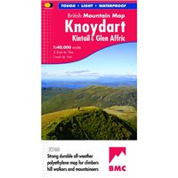 Harvey Maps BMC Knoydart Kintail Glen Affric Map