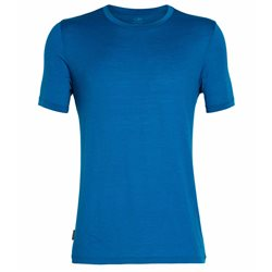 Icebreaker Mens Tech Lite SS Crewe Base Layer (Options: M Poseidon, L Poseidon, XL Poseidon, XXL Poseidon)