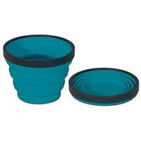 Sea to Summit X-Cup 250ml Silicone Collapsible Cup (Option: Blue)