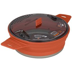 Sea to Summit X-Pot 1.4L 1 Person Lightweight Collapsible Compact Pot