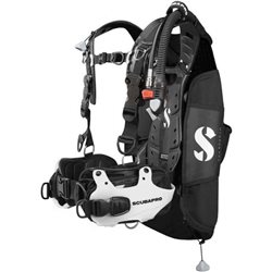 Scubapro Mens Hydros Pro Jacket Buoyancy Compensator (Option: White Colour Accent )