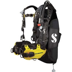 Scubapro Mens Hydros Pro Jacket Buoyancy Compensator (Option: Yellow Colour Accent )