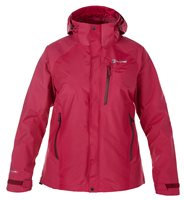 Berghaus Womens Skye Waterproof Jacket (Option: 18 Dark Cerise)