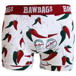 Bawbags Mens Cool De Sacs Underwear - Chilli