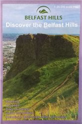OS Northern Ireland Belfast Hills 1:25000 Map