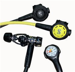Scubapro MK2 EVO R095 Regulator + R095 Octo Second Stage + Gauge Pack