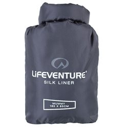 Lifeventure Unisex Silk SB Liner Mummy Sleeping Bag