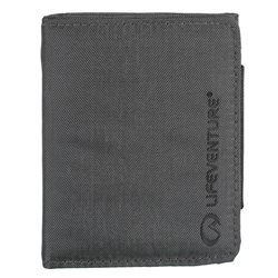 Lifeventure RFiD Trifold Protected Wallet (Option: Grey)