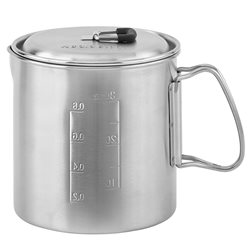 Solo Stove Pot 900 0.9L Lightweight Stainless Steel Pot Solo Lite