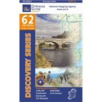 OS Ireland 62 Wicklow 1:50000 Map