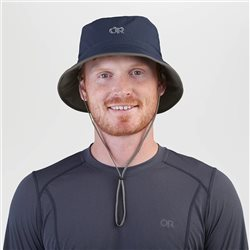 Outdoor Research Unisex Sun Bucket UPF 50+ Hat (Options: S Khaki/Dark grey, M Khaki/Dark grey, L Khaki/Dark grey, XL Khaki/Dark grey)