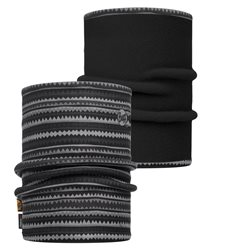 Buff Reversible Polar Neckwarmer -  Picus Grey/Black