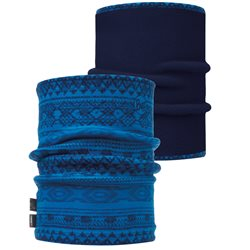 Buff Reversible Polar Neckwarmer - Athor Harbour/Navy