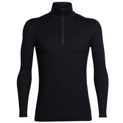 Icebreaker Mens Tech Top L/S Half Zip Base Layer