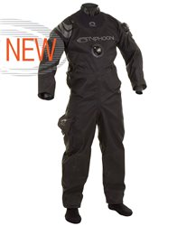Typhoon Mens Spectre Shoulder Back Entry Zip Version Diving Drysuit