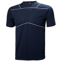 Helly Hansen Mens Lifa T Base Layer (Options: M Navy, L Navy)