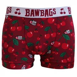 Bawbags Mens Cool De Sacs Underwear - Cherry