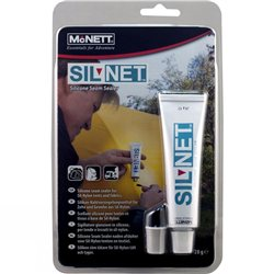 McNett Gear Aid SilNet Silicone Seam Sealer for Sil-Nylon Fabrics