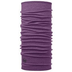 Buff Mid Weight Merino Wool - Purple Melange