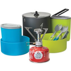 MSR PocketRocket Stove Kit 2 Person Complete Cook & Eat Kit
