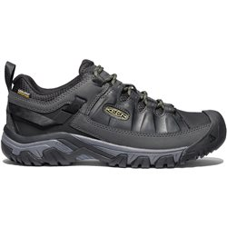 Keen Mens Targhee III WP Walking / Hiking Shoes (Options: UK 7 Black/Olive Drab, UK 8 Black/Olive Drab, UK 9½ Black/Olive Drab, UK 10½ Black/Olive Drab, UK 11 Black/Olive Drab, UK 12 Black/Olive Drab)