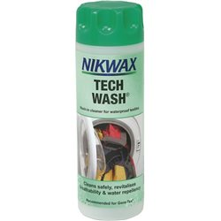 Nikwax Tech Wash 300ml Cleaner for Water-repellent Fabrics