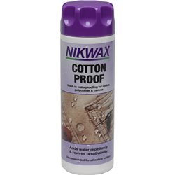 Nikwax Cotton Proof 300ml Water Proofer for Cotton Fabrics