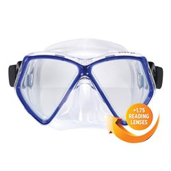 Sherwood Oracle+ Dive Mask with +1.75 Positive Optical Lenses