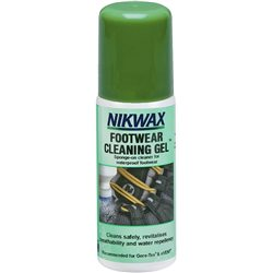 Nikwax Footwear Cleaning Gel 125ml Cleaner for All Footwear