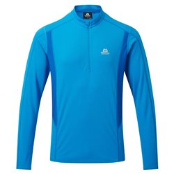 Mountain Equipment Mens Ignis LS Zip Tee Base Layer