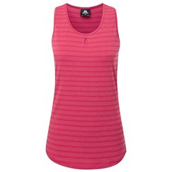 Mountain Equipment Equinox Womens Vest Base Layer (Option: 14 Poppy Stripe)