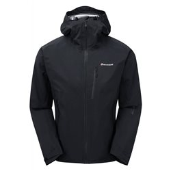 Montane Mens Fleet Waterproof Jacket (Option: XXL Black)