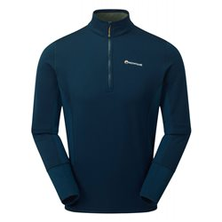 Montane Mens Iridium Hybrid Pull-On Fleece