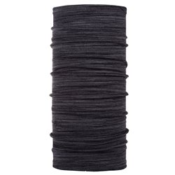 Buff Mid Weight Merino Wool - Castlerock Grey Multi Stripes