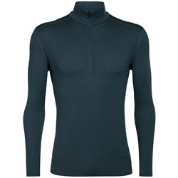 Icebreaker Mens 260 Tech L/S Half Zip Base Layer