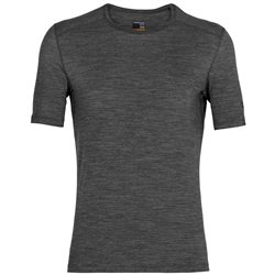 Icebreaker Mens 200 Oasis SS Crewe Base Layer