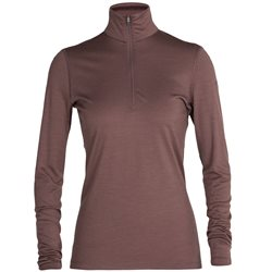 Icebreaker Womens 200 Oasis L/S Half Zip Base Layer